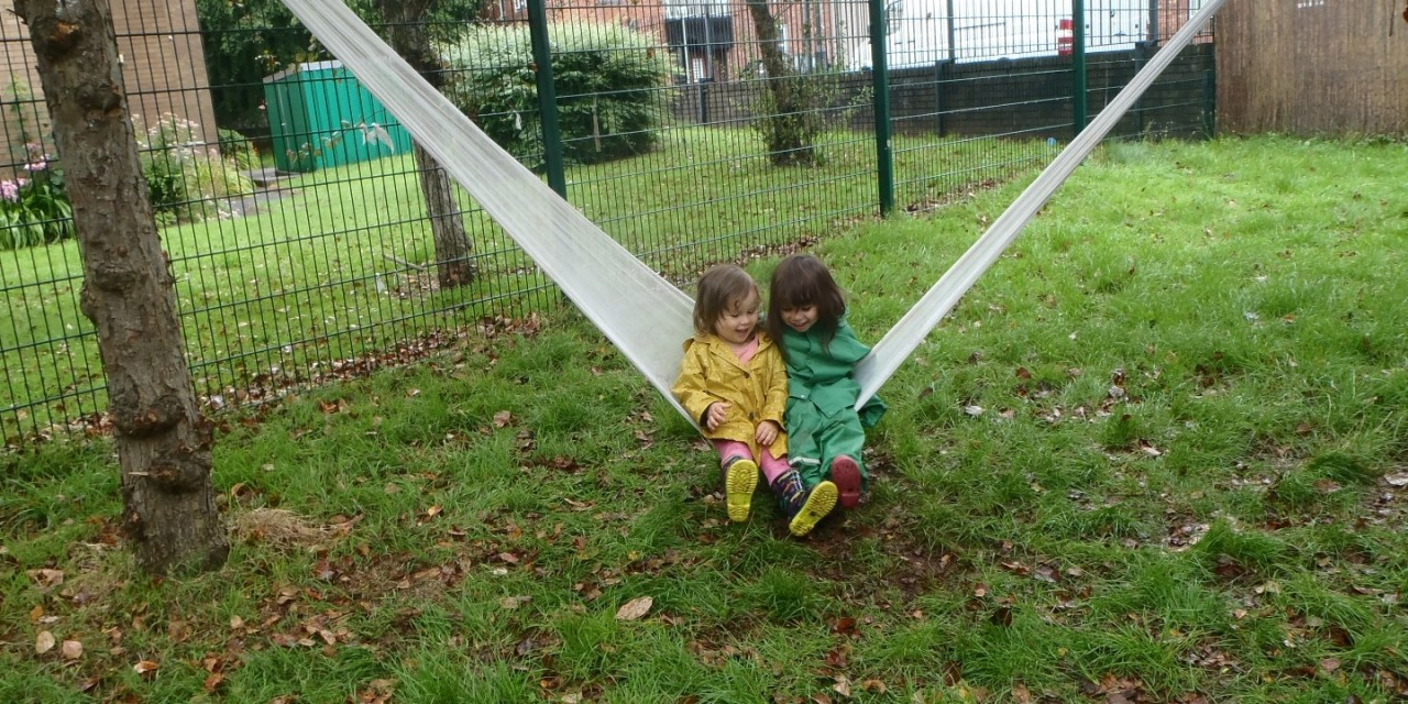 We're raising £15,000 to help fund the upgrade of our outdoor play area!