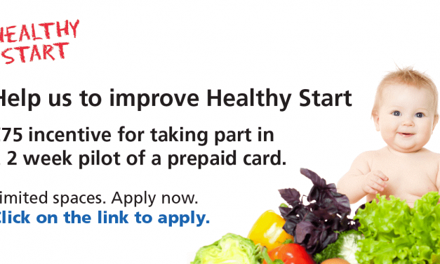 Help us improve Healthy Start