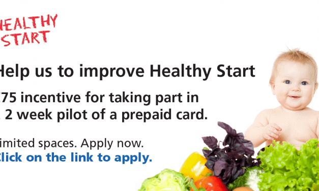 Help us improve Healthy Start