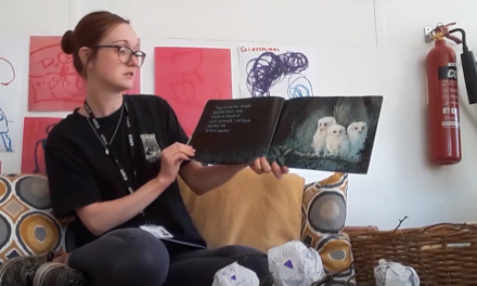 Emily Reads Owl Babies