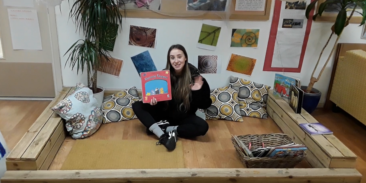 Video: Holly Shares Nursery Rhymes